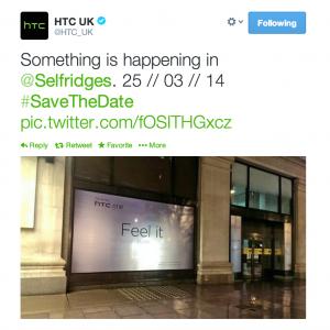 HTC ONE M8 - Save The Date - επίσημη ημερομηνία παρουσίασης; 1