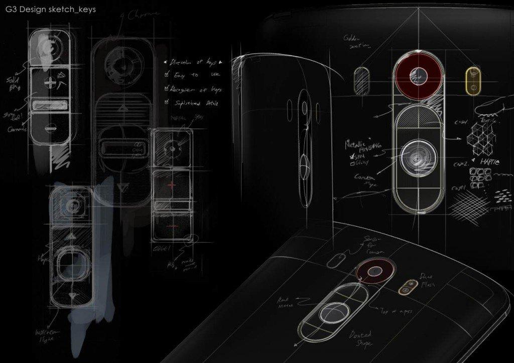 LG G3_Design Sketch