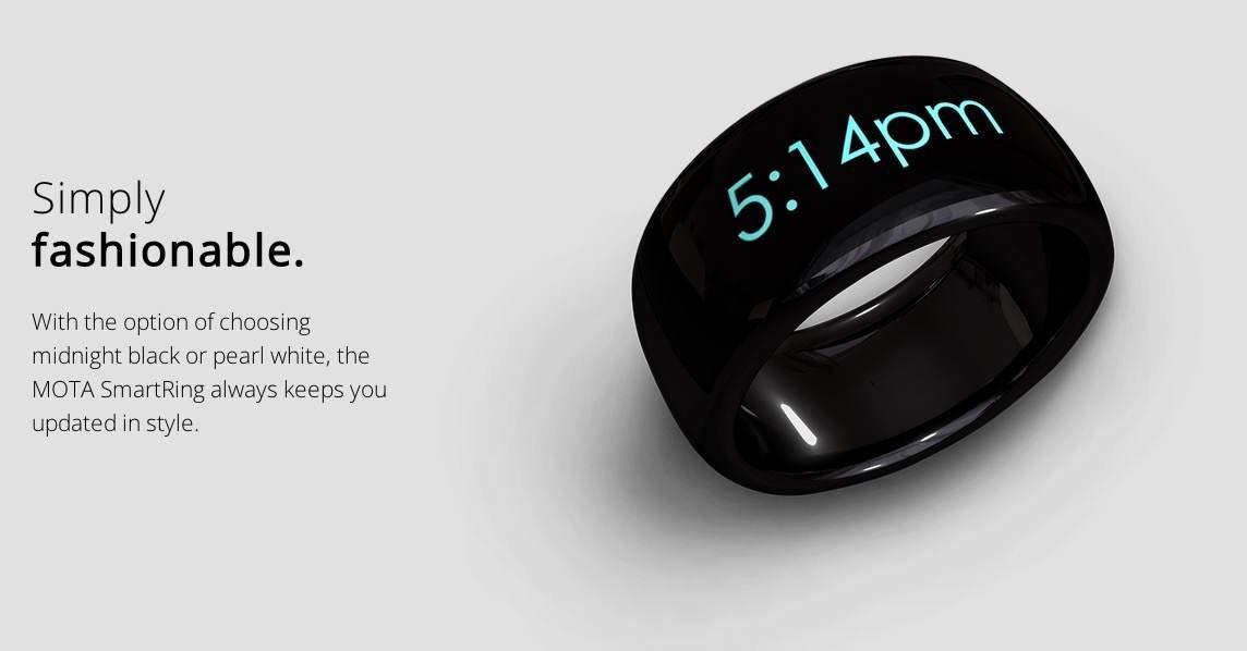 Μετά τα smartwatches έρχεται το smart-ring από την MOTA ... 18b373f2635