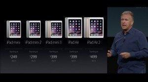 Apple: Παρουσίασε τα νέα iPad , iPad Air 2 και iPad Mini 3(pics)