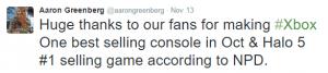 AAron Greenberg Tweet