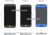 Samsung: Αποκαλύφθηκαν οι διαστάσεις των Galaxy S7 και Galaxy S7 edge σε σκίτσο