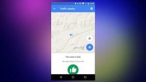 Google Maps: Πλέον σε ενημερώνει για την κυκλοφορία στην περιοχή γύρω σου