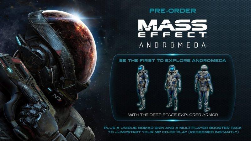 Mass Effect: Andromeda όλες οι τελευταίες πληροφορίες και pre-order bonus