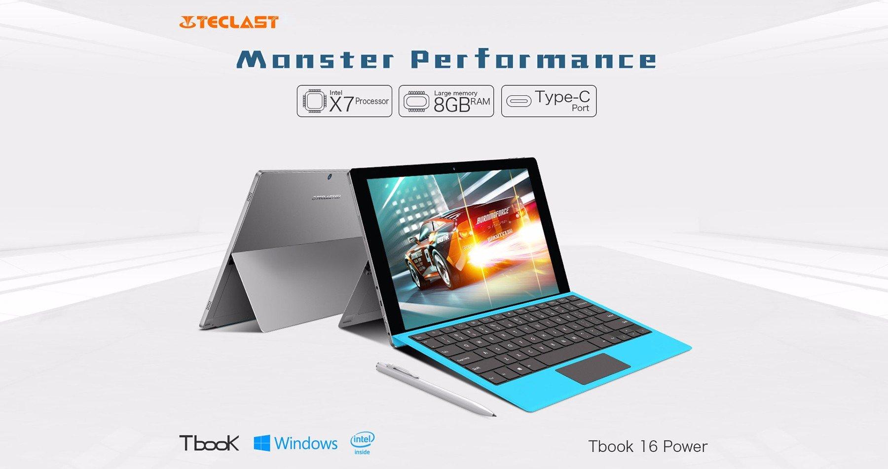 Το Teclast Tbook 16 Power Tablet PC στη μισή τιμή για ελάχιστες μέρες από το Gearbest.com!