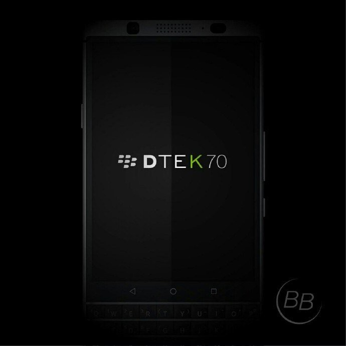 Νέες φωτογραφίες του BlackBerry DTEK70 (Μercury) 2