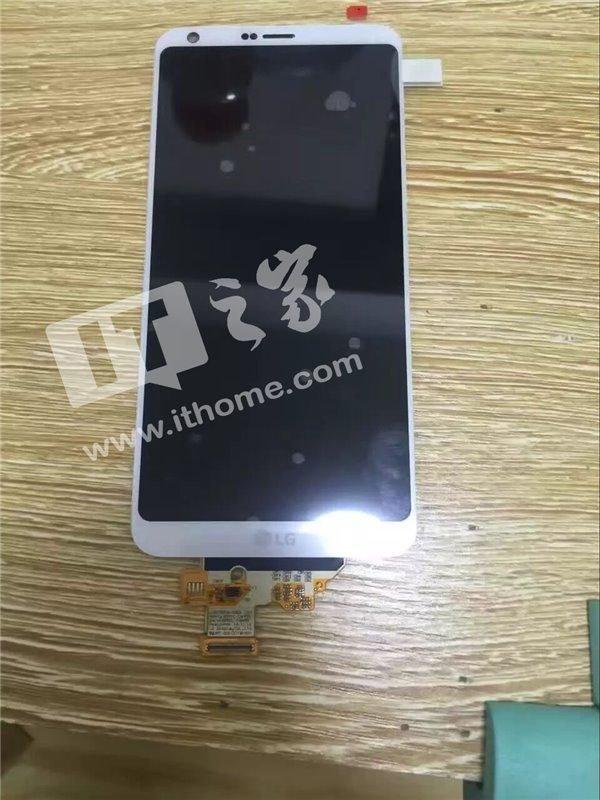 Η πρώτη live φώτογραφία του μπροστινού πάνελ του LG G6! 1