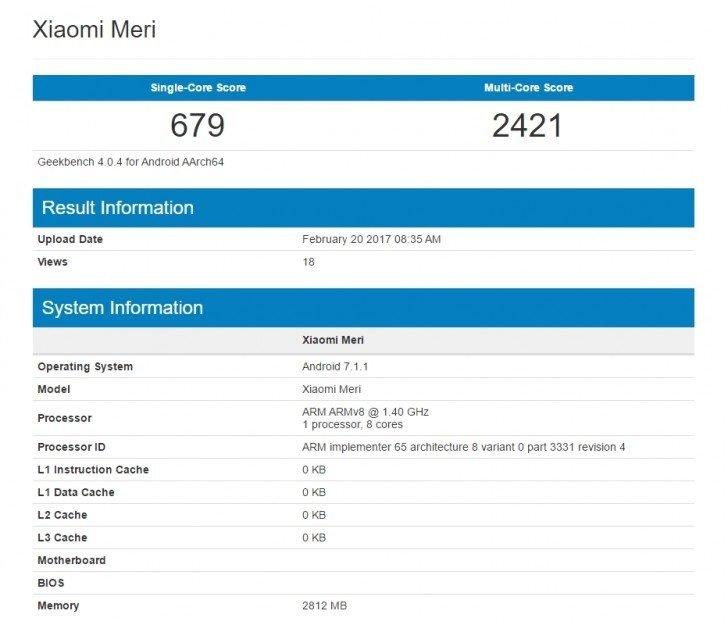 gsmarena 003 11 Xiaomi Mi 5c: Εμφανίστηκε στο Geekbench σημειώνοντας διάφορα σκορ