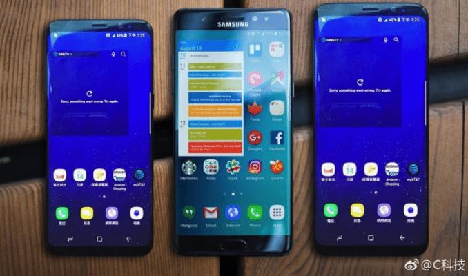 Σε live photos τα Samsung Galaxy S8/S8 Plus, μαζί με το Note 7! 1