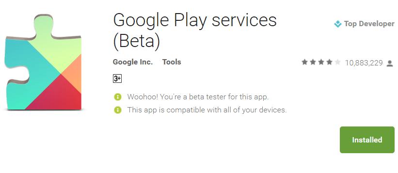 Google : Διαθέσιμες οι beta εκδόσεις του GBoard και του Google Play Services 1