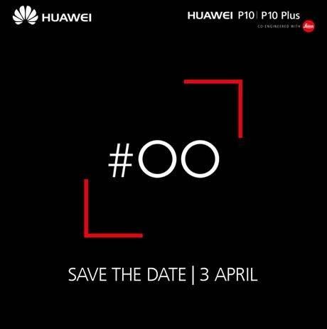 Save the date: Τα Huawei P10 και P10 Plus έρχονται Ελλάδα στις 03/04! 1