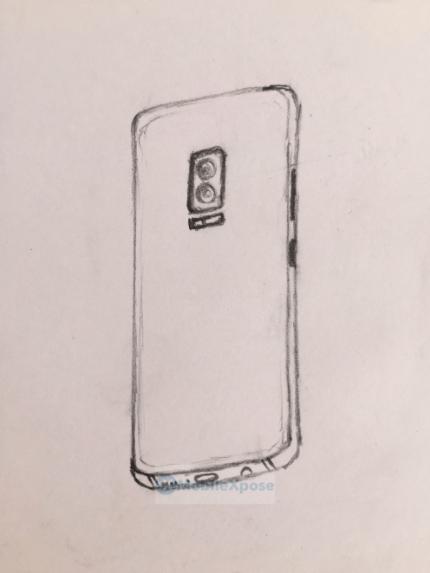 Δύο νέα σκίτσα δείχνουν διάταξη διπλής κάμερας στο Galaxy Note 8 1