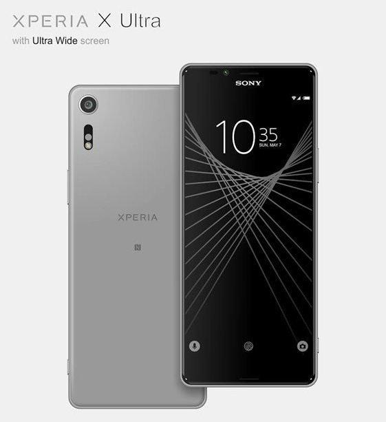 Διέρρευσε το Sony Xperia X Ultra με οθόνη 6,4 ιντσών και ratio 21:9!