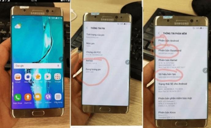 Samsung Galaxy Note 7R: Διαρροή επιβεβαιώνει μικρότερη μπαταρία και Android 7.0! 1