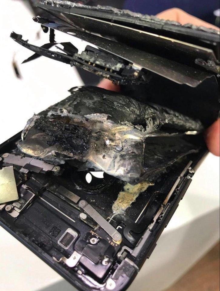 Σημειώθηκε κι άλλο περιστατικό με έκρηξη σε iPhone 7 και μικρο-τραυματισμό του χρήστη 1