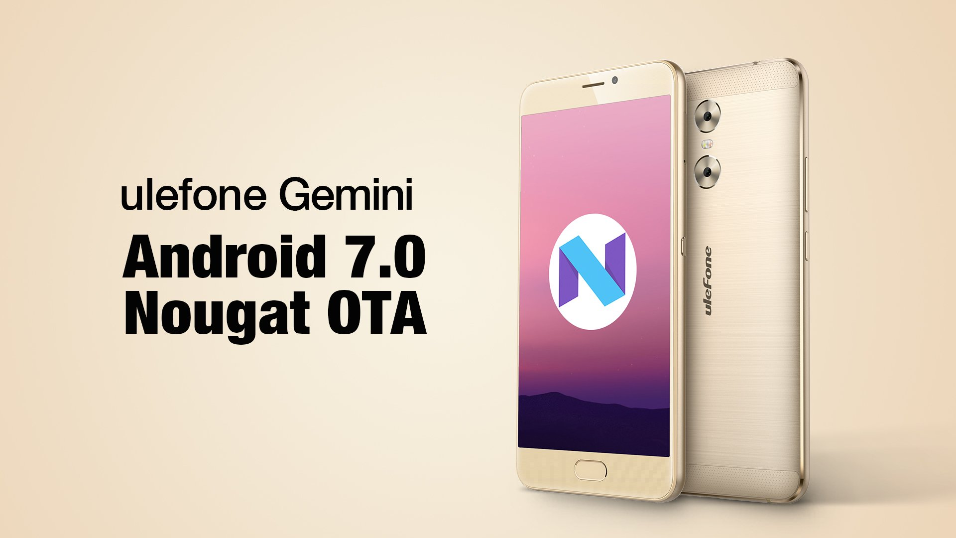 Ulefone Gemini: Αναβαθμίζεται σε Android 7.0 Nougat! 1