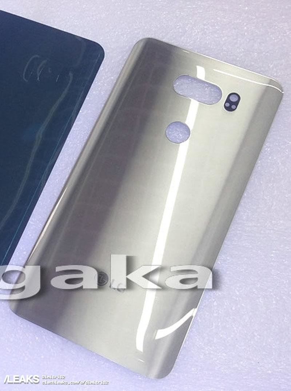 LG V30: Αποκαλύφθηκε το πίσω μέρος με κάθε λεπτομέρεια! 1