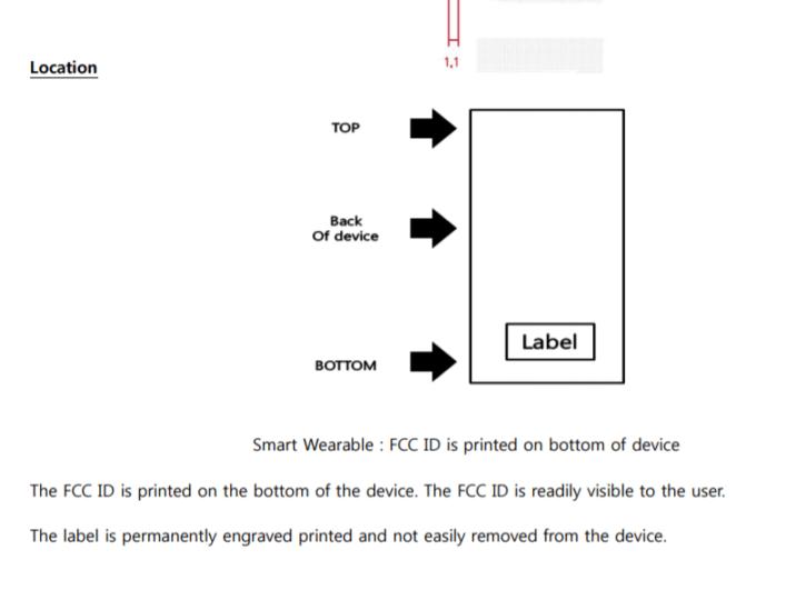 Samsung SM R365 FCC 02 707x540 Gear Fit 2 Pro: Αυτό θα είναι το νεότερο fitness tracker της Samsung που φέρει πια και πιστοποίηση από την FCC
