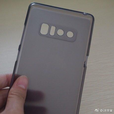 Samsung Galaxy Note 8: Φωτογραφήθηκε με μια νέα προστατευτική θήκη 1
