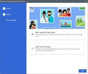 Το καινούργιο εργαλείο της Google για backup είναι πλέον διαθέσιμο 1