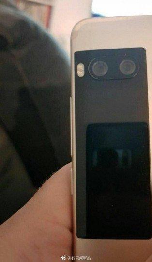 """Η δεύτερη """"βοηθητική"""" οθόνη του Meizu Pro 7 πίσω του, θα είναι μια έγχρωμη LCD οθόνη 1"""
