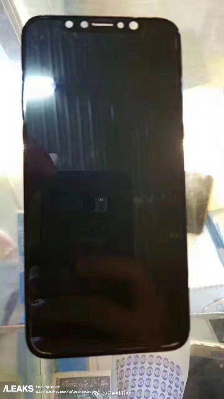 Εντοπίστηκε ξαφνικά συναρμολογημένη η οθόνη του iPhone 8 χωρίς ορατό το Touch ID 1