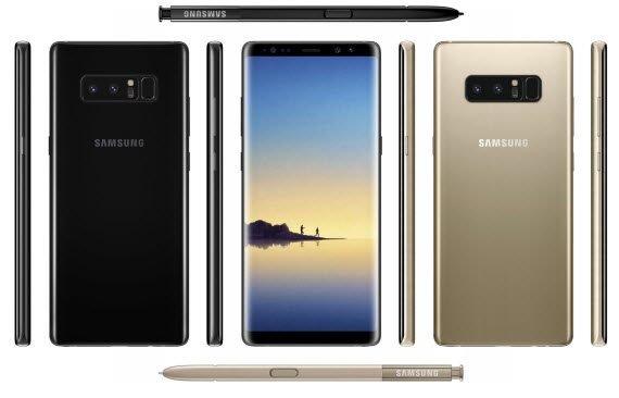 Όλα τα τελικά χαρακτηριστικά του Samsung Galaxy Note 8! 1