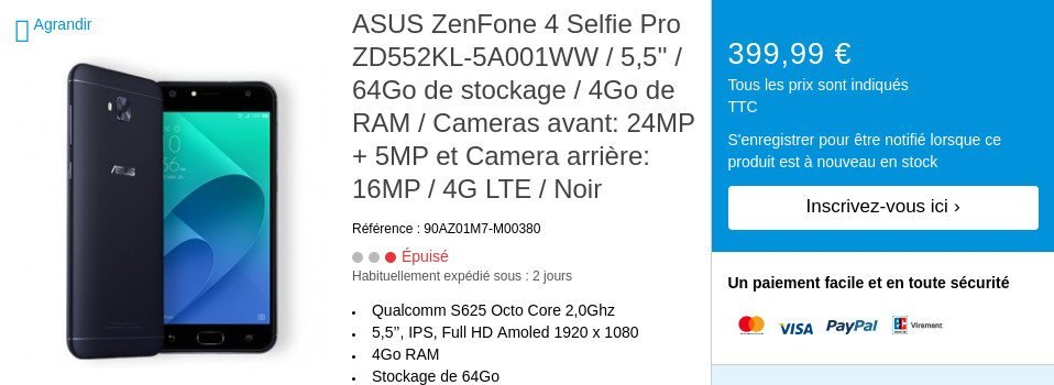Από ένα αμελητέο της λάθος η Asus διέρρευσε νέες πληροφορίες και τιμές για τα 4 νέα της μοντέλα ZenFone 3