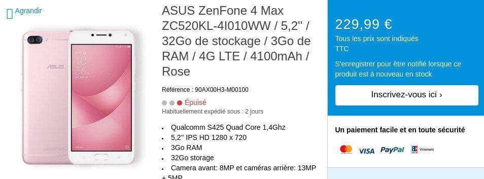 Από ένα αμελητέο της λάθος η Asus διέρρευσε νέες πληροφορίες και τιμές για τα 4 νέα της μοντέλα ZenFone 4