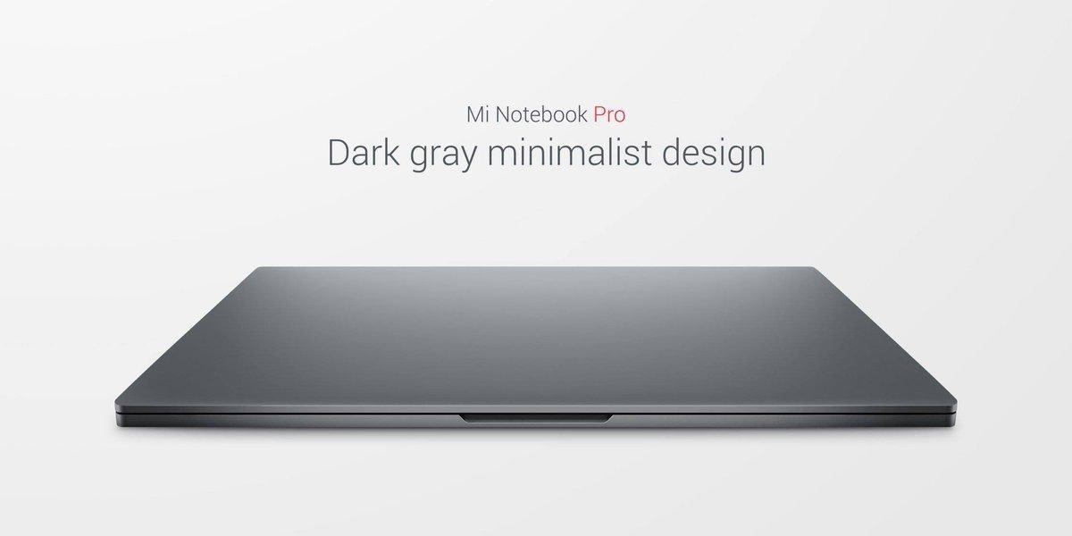 Προστέθηκε στην γκάμα προϊόντων της εταιρείας και το νέο Xiaomi Mi Notebook Pro με Core i7/i5 1