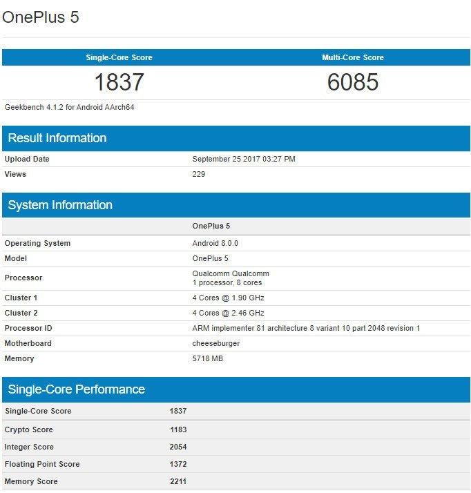 Ξεκίνησαν οι δοκιμές του Android 8.0 Oreo στο OnePlus 5!
