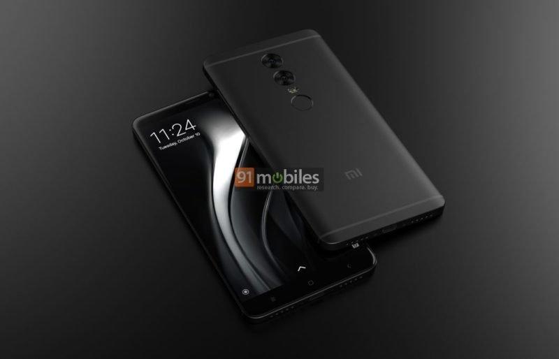 Xiaomi Redmi Note 5: Νέα renders αποκαλύπτουν dual-camera πίσω και ίδιο σχεδιασμό με το Redmi Note 4