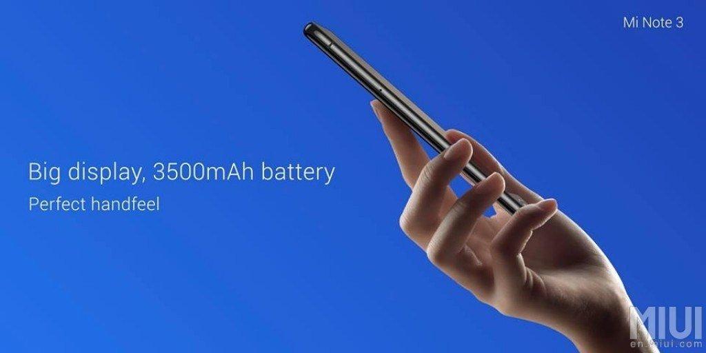 Εμφανίστηκε και το νέο Xiaomi Mi Note 3 με αρκετά νέα χαρακτηριστικά πάνω του 1