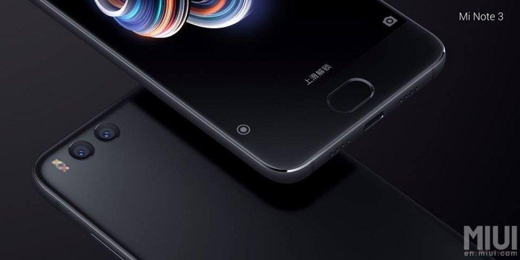 Εμφανίστηκε και το νέο Xiaomi Mi Note 3 με αρκετά νέα χαρακτηριστικά πάνω του 2