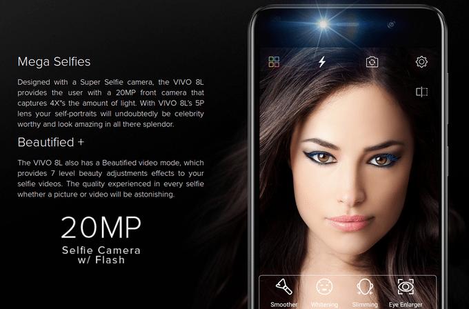 BLU Vivo 8L: Με 20MP selfie camera και μπαταρία φορτίου 4.000mAh 1