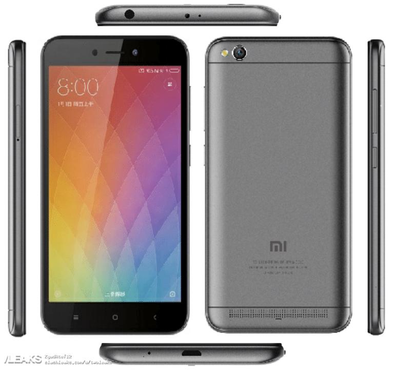 Xiaomi Redmi 5Α: Έχουμε μια νέα του εικόνα και τις τιμές λιανικής του 1
