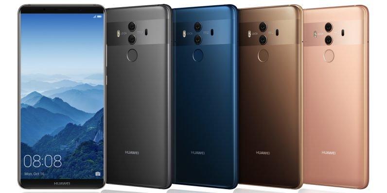 Στα ράφια αρκετών Ελληνικών καταστημάτων βρίσκεται από σήμερα το νέο Huawei Mate 10 Pro 1