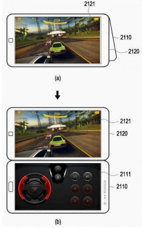 Νέα δίπλωμα ευρεσιτεχνίας δίνει λεπτομέρειες για την διπλή οθόνη του νέου Samsung Galaxy X 1