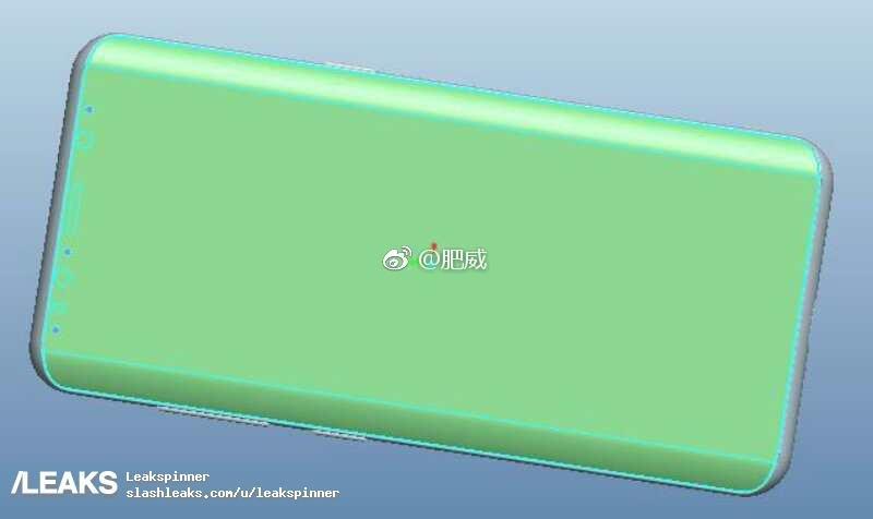 Πάλι διέρρευσαν νέα CAD σχέδια για το επερχόμενο Galaxy S9 με αισθητές αλλά ελάχιστες αλλαγές 1