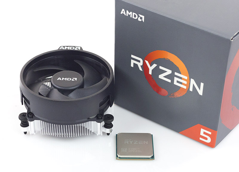 Overclock AMD Ryzen 5 1600 Stock Cooler - Geekdom Hardware 1