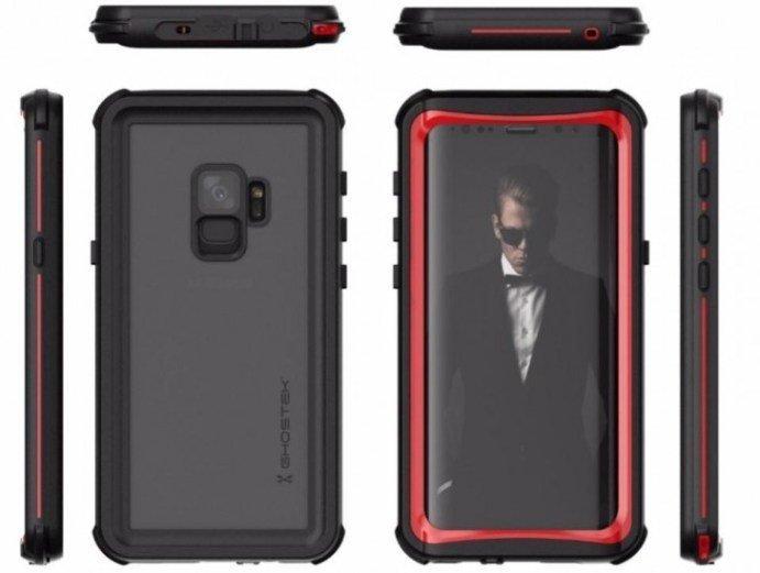 """Δεν """"χορταίνουμε"""" να βλέπουμε νέα renders για το Samsung Galaxy S9, ορίστε άλλο ένα από την Ghostek 1"""