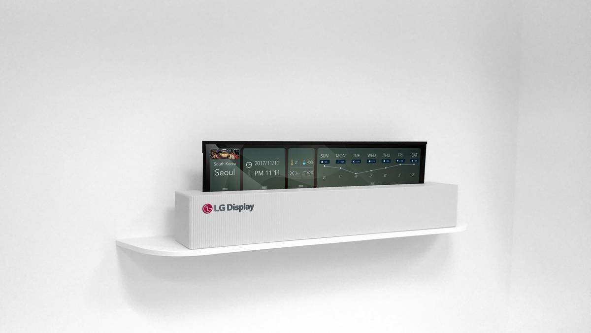 Η LG αποκαλύπτει την πρώτη οθόνη OLED που τυλίγεται σαν ρολό χαρτιού και έχει μέγεθος 65 ιντσών 1