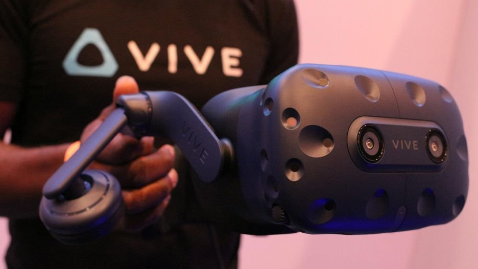 HTC Vive Pro VR: Υψηλότερη ανάλυσης και ενσωματωμένα ακουστικά 1
