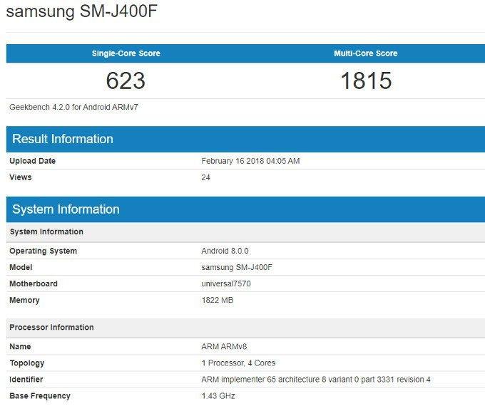 Samsung Galaxy J4 (2018): Διαρρέει με προδιαγραφές επιπέδου entry-level 1