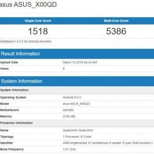 Το Asus Zenfone 5 Max έκανε την εμφάνιση του στο Geekbench με επεξεργαστή Snapdragon 660 1