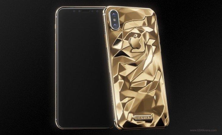 H Ρωσική Caviar θα πουλάει ένα χρυσό iPhone X με τιμή από τα 4.510 δολάρια 1