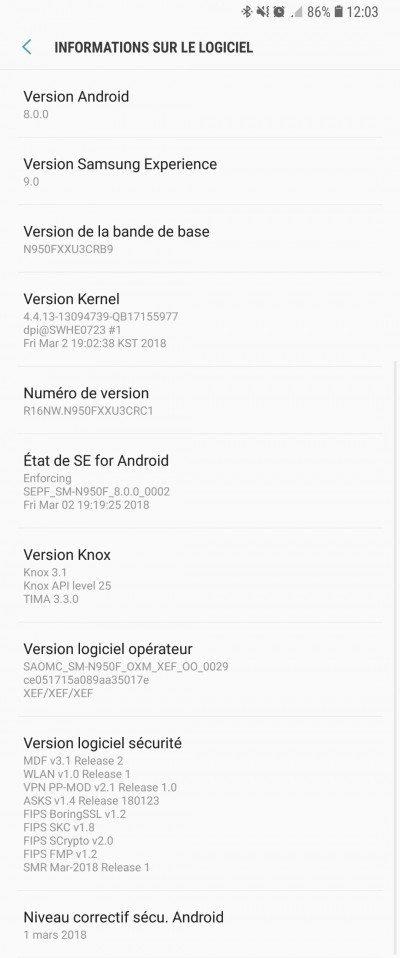 Άρχισε να λαμβάνει την νέα έκδοση Android Oreo και το Samsung Galaxy Note 8 1