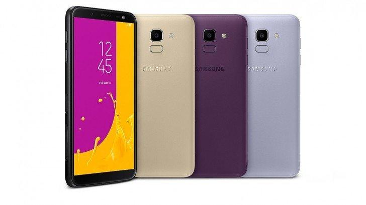 Tα έδειξε επίσημα χθες η Samsung τα νέα της Galaxy J6 και J4 o 1