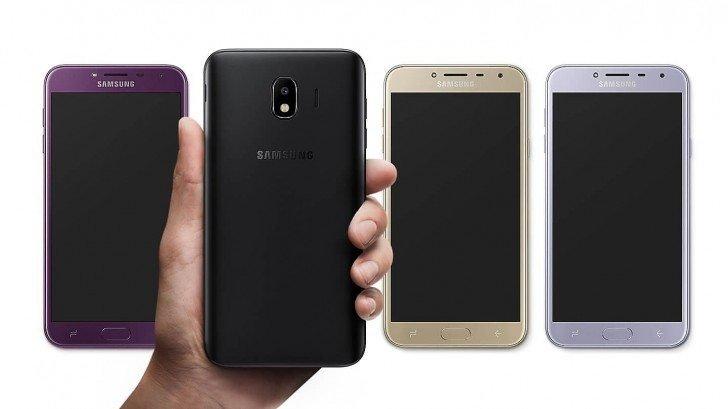 Tα έδειξε επίσημα χθες η Samsung τα νέα της Galaxy J6 και J4 o 2