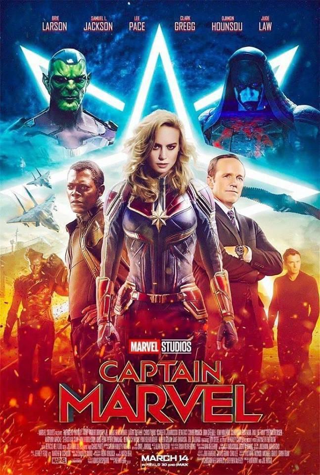 Βόμβα μεγατόνων το πόστερ της Captain Marvel! -Geekdom Cinema/TV 1